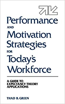 Performance and Motivation Strategies for Today's Workforce: A Guide to Expectancy Theory Applications