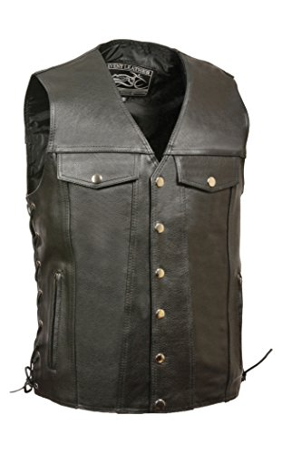 Event Leather Vest - 4