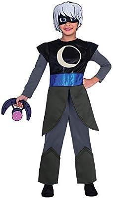 Disfraz Oficial de PJ Masks Luna Girl de Disney, antihéroe, para la Noche, Villano, TV, espectáculo, Disfraz