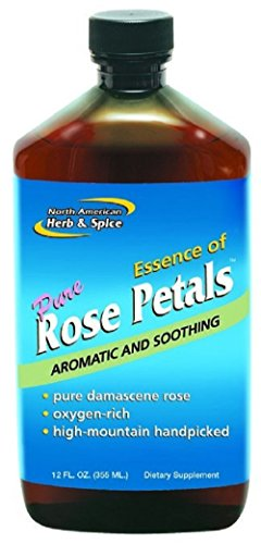(North American Herb and Spice, Essence of Rose Petals, 12-Ounce)
