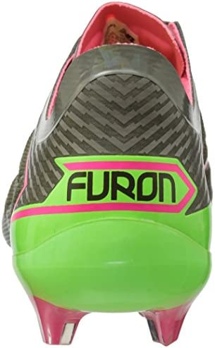 New Balance Men's Furon 3.0 Pro FG, Dark Military Triumph/Alpha Pink, 6.5 2E US
