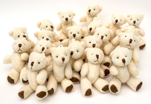 NEW Cute And Cuddly Little Teddy Bear X 10 - Gift Present Birthday Xmas by London Teddy Bears]()