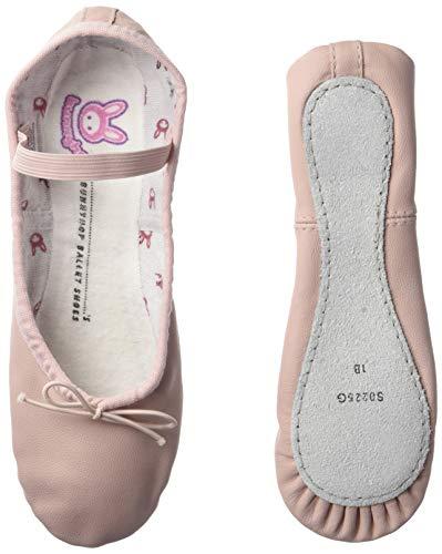 Bloch Dance Bunnyhop Ballet Slipper (Toddler/Little Kid)  Little Kid (4-8 Years), Pink - 11 C US Little Kid (Ballet Flats Slippers)