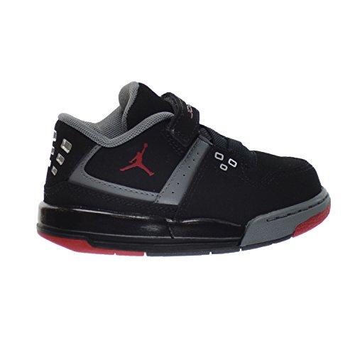 Jordan Flight 23 BT Infant/Baby/Toddlers Shoes Black/Gym Red-Cool Grey 317823-021 (4 M US)