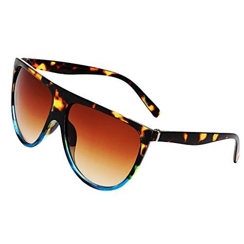 se Ropa Marrón de Moda describe Manualidades Gafas Muchacha de como Costura Azul Niñas de Sol de Marinas Anteojos oscuro MagiDeal Uq0ZwC