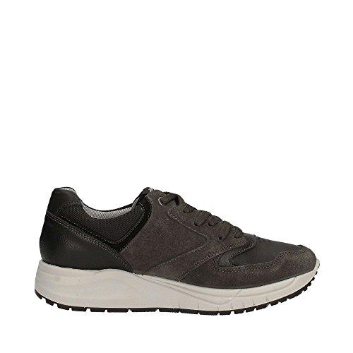 Uomo Collo a Sneaker Usl IGI amp;CO Basso Grigio 8746 TnPx06H