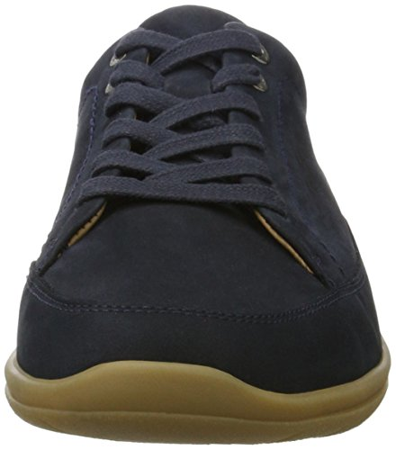 de Blau Navy g Navy Cordones Gill Derby para Zapatos Ganter Mujer nagT1wxOq