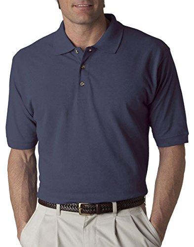 Ultraclub Men's Classic Piqué Polo Shirt, Storm Blue, X-Large (8530 Ultraclub Lady Polo)
