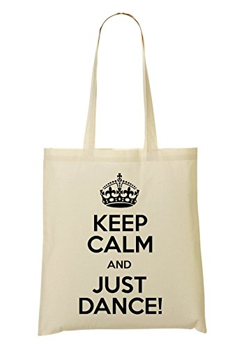 Keep Calm And Just Dance Tote Bag Shopping Bag