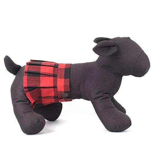 The Worthy Dog Buffalo Plaid Skirt for