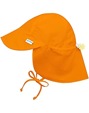 Iplay Flap Hat-Orange-2T/4T
