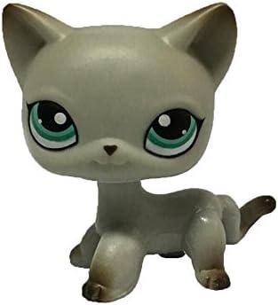 Amazon.com: Meidexian888 2.5 inches Cartoon Cat Pet Shop Toy ...
