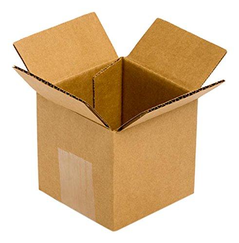 Pratt PRA0001 RSC 100% Recycled Corrugated Cardboard Box, 4