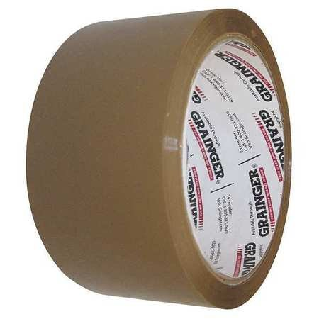 Carton Sealing Tape, Tan, 48mmx100m, PK36 by Materro