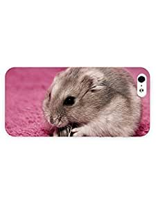 3d Full Wrap Case For Iphone 6 Plus 5.5 Inch Cover Animal Hamster Eating Sunflower Seeds