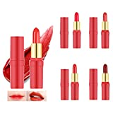 Cleansing Drink At Home - ICYCHEER Hot 5pc Shimmer & Matte Lipstick Long-Lasting Waterproof Lip Kit Cosmetics Mini Set Makeup Beauty Tool