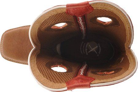 Work Cherry Boot Saddle Distressed Twisted Cowboy Mens Lite Cherry X xHqpXU
