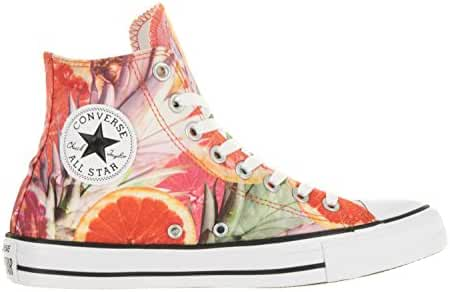Converse Chuck Taylor All Star Hi Top Orange/Green/White Mens