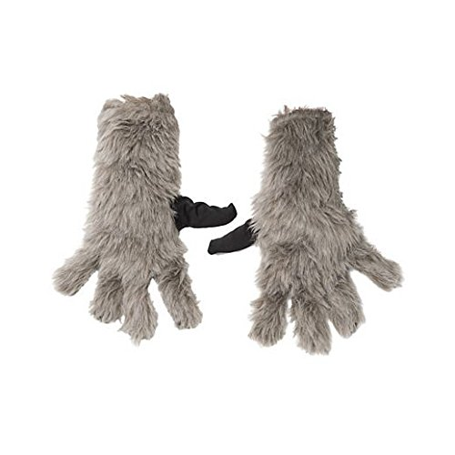 Child Rocket Raccoon Gloves (Gloves Costume Accessory Hand Accessories Halloween Kids Rocket Raccoon Gloves)