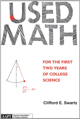 Used Math For The First Two Years Of College Science