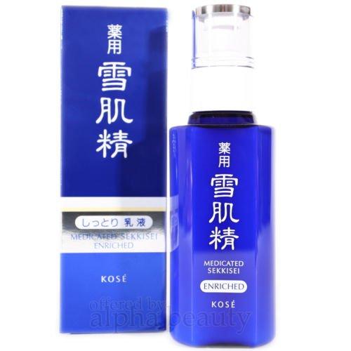 Kose Medicated Sekkisei Whitening Emulsion (140ml) (Kose Sekkisei Emulsion)