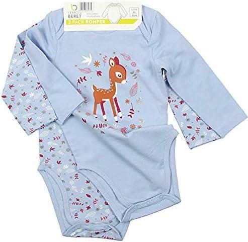 Lemon Beret Body Bebe niña Pack 2 Unidades Color Azul Dibujo Bambi ...