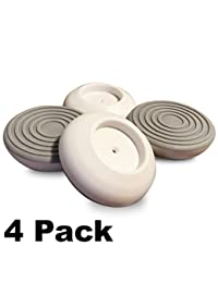 4 Pack Wall Guards for Pressure Mounted Baby Gate fits Stairs, Gates, Doorways, Wall Cups Surface Protection for Pet Child Infant Safety, Damage Free Wall Guard, 1.6