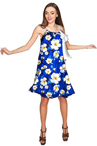 Charmeuse Stretch Halter Dress (PineappleClothing Women's Chiffon Floral Print Summer Party Swing Halter Dress)