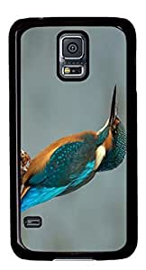 Beautiful Hummingbird Lovelly Animals DIY Hard Shell Black Best Designed Samsung Galaxy S5 I9600 Case