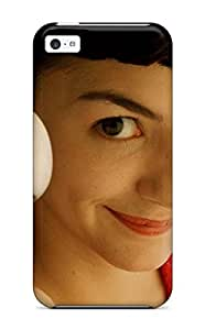 Vicky C. Parker's Shop 6114823K87240221 High Quality Audrey Tautou As Amelie Skin Case Cover Specially Designed For Iphone - 5c