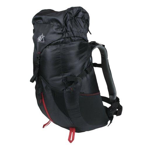 10T Towa 30L Rucksack XL Tourenrucksack mit Regenschutz Trekkingrucksack Wanderrucksack mit Trinksystem, Hüft- & Schultergurte einstellbar Daypack mit Fächern Taschen Rückenbelüftung