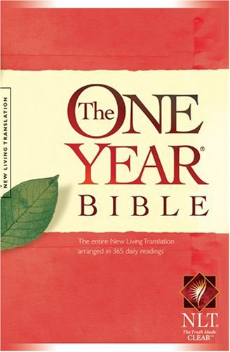 The One Year Bible NLT cover