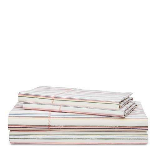 Lauren by Ralph Lauren Cayden Stripe Sheet Set - King - Ralph Lauren Bedding Collections