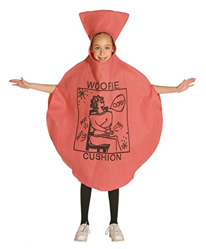 UHC Whoopie Cushion Outfit Comical Theme Fancy Dress Child Halloween Costume, Child M (7-10) (Infant Whoopie Cushion Halloween Costume)