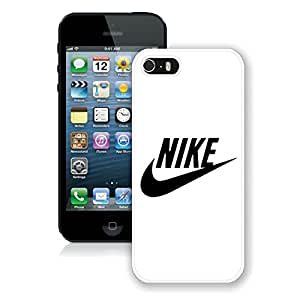 Unique And Luxurious Designed For iPhone 5S Cover Case With Nike 27 White Phone Case