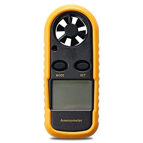 MTSBW DA816 Digital LCD CFM/CMM Termo Anemómetro + termómetro infrarrojo para la Temperatura del medidor de Velocidad del...