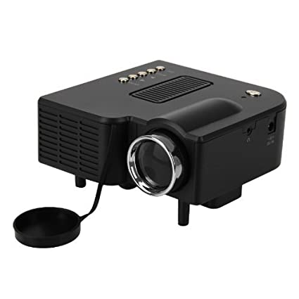 Excelvan UC28 - Mini proyector HD LED LCD portatil Home Cinema 48 ...