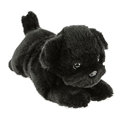 Bocchetta Plush Toys Pug Dog Lying Stuffed Animal Plush Toy