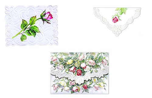 Carol Wilson Fine Arts Inc., Summer Garden Note Card Collection - 4 Designs - 24 Portfolio Boxes with 10 Note Cards Each- ncppack7x6 by For Arts Sake Cards and Gift