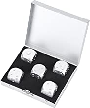 5pcs Game Dice 6-Sided Dice Set with Storage Box