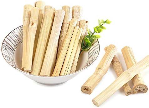 Jouets à m acirc;cher en bambou naturel Niteangel pour lapins chinchilla cochons dInde et autres petits animaux