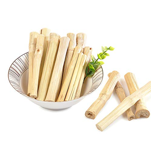 Image of Niteangel Natural Bamboo Chew Toys for Rabbits, Chinchilla, Guinea Pigs and Other Small Animals (20 pcs)