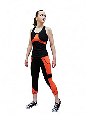 Women's Activewear 2-Piece Set Fitted (S-M-L-XL) Top and Bottom