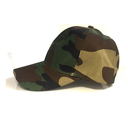 Baseball Cap uomo Print Camouflage Baseball Accessoryo O5qn77