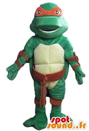 mascota SpotSound de Rafael, la diadema roja famosa tortuga ...