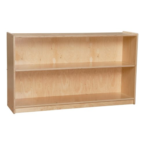Sprogs Mobile Adjustable Bookcase with Two Shelves, SPG-2471A ()