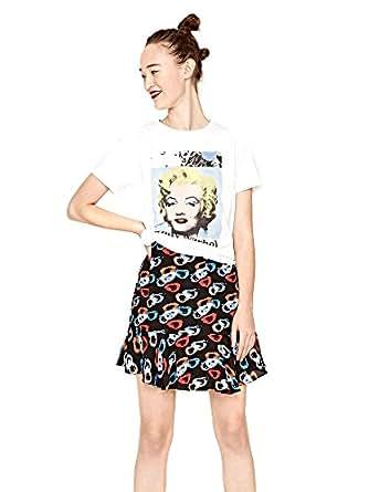 Pepe Jeans T-Shirts For Women, White (AL500326-WHT1 - M)