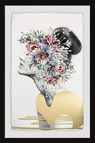 Marmont Hill Flower Crown II Framed Painting Print from Marmont Hill