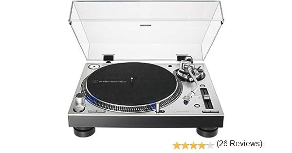Audio-Technica AT-LP140XP-BK - Tocadiscos Manual: Amazon.es ...