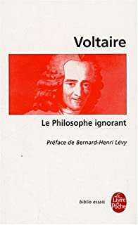 Le philosophe ignorant, Voltaire